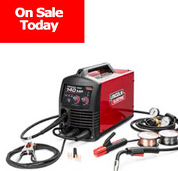 Lincoln Electric Power 140MP MIG Welder