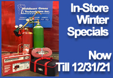 Middlesex Gases Instore Specials